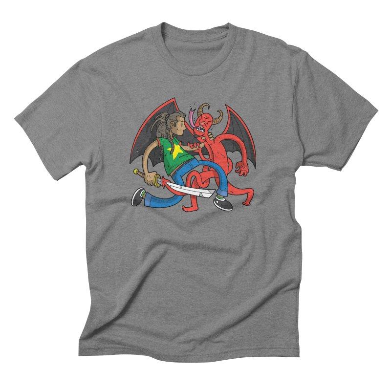 Star Dread Kill The Devil Men's T-Shirt by Ian J. Norris