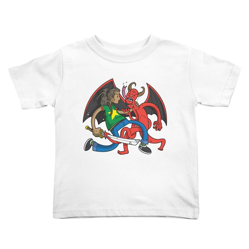 Star Dread Kill The Devil Kids Toddler T-Shirt by Ian J. Norris