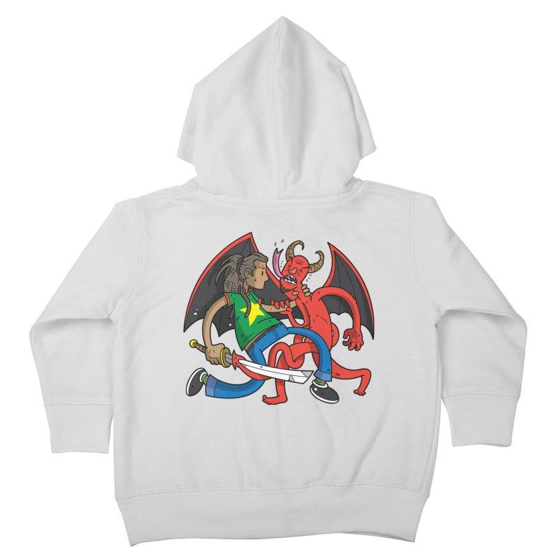 Star Dread Kill The Devil Kids Toddler Zip-Up Hoody by Ian J. Norris
