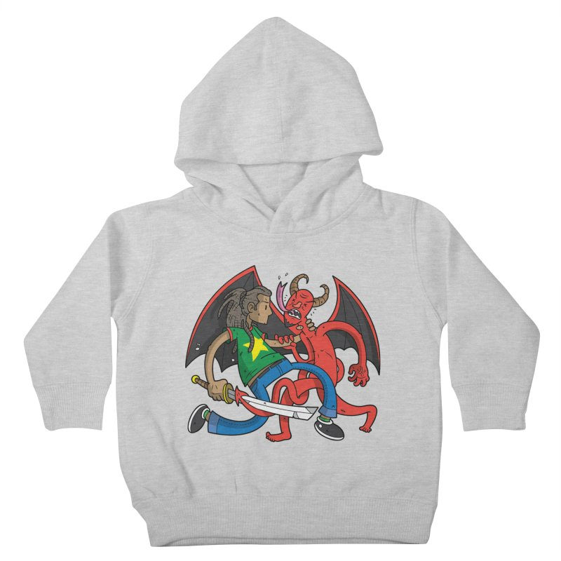 Star Dread Kill The Devil Kids Toddler Pullover Hoody by Ian J. Norris