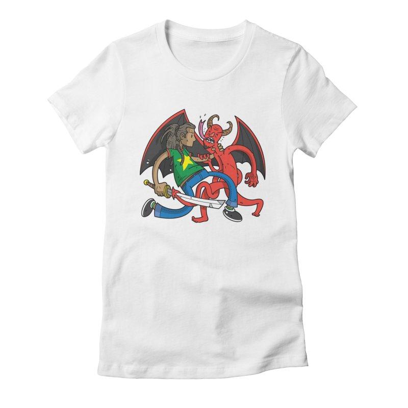 Star Dread Kill The Devil Women's T-Shirt by Ian J. Norris