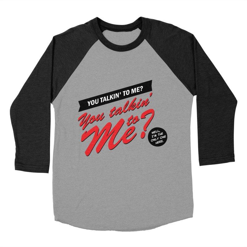 Better Call Travis Women's Baseball Triblend Longsleeve T-Shirt by Ian J. Norris