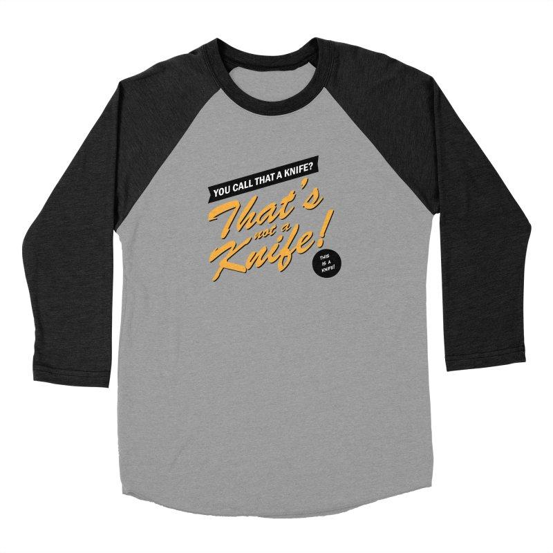 Better Call Crocodile Men's Baseball Triblend Longsleeve T-Shirt by Ian J. Norris