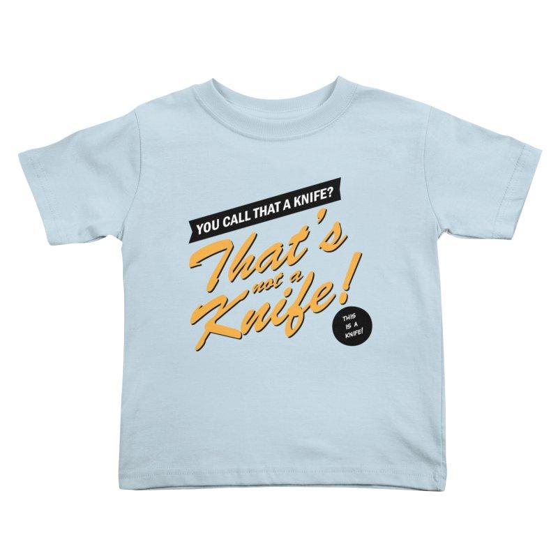 Better Call Crocodile Kids Toddler T-Shirt by Ian J. Norris