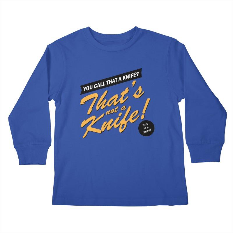 Better Call Crocodile Kids Longsleeve T-Shirt by Ian J. Norris