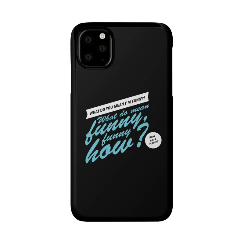 Better Call Tommy Accessories Phone Case by Ian J. Norris