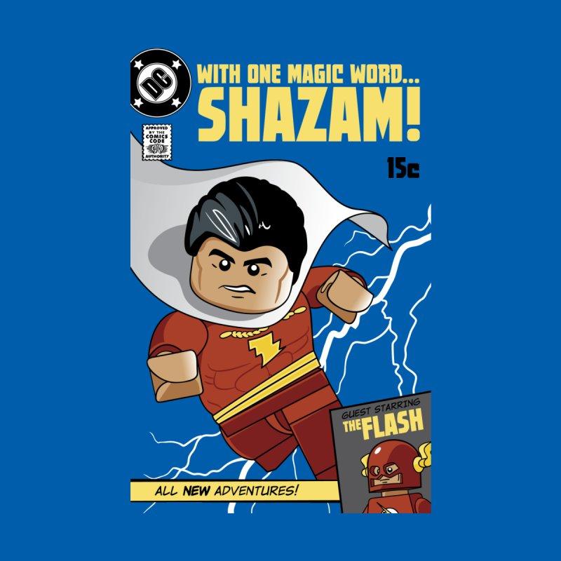 Lego Shazam Men's T-Shirt by Ian J. Norris