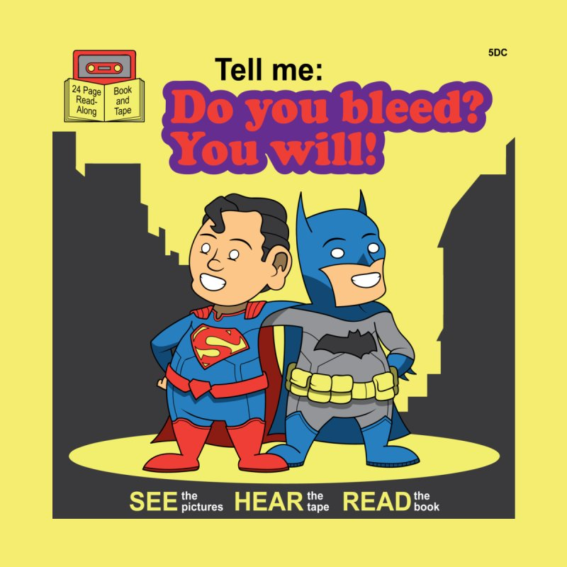 Do You Bleed? You Will! Men's T-Shirt by Ian J. Norris