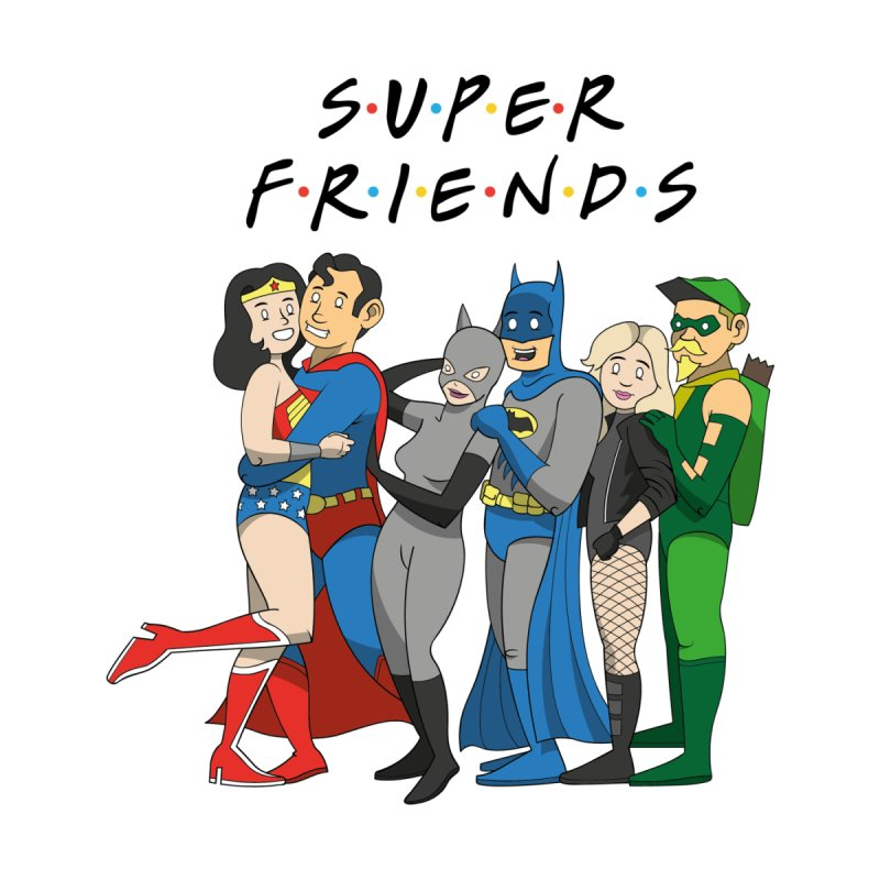 Super Friends Women's Longsleeve T-Shirt by Ian J. Norris
