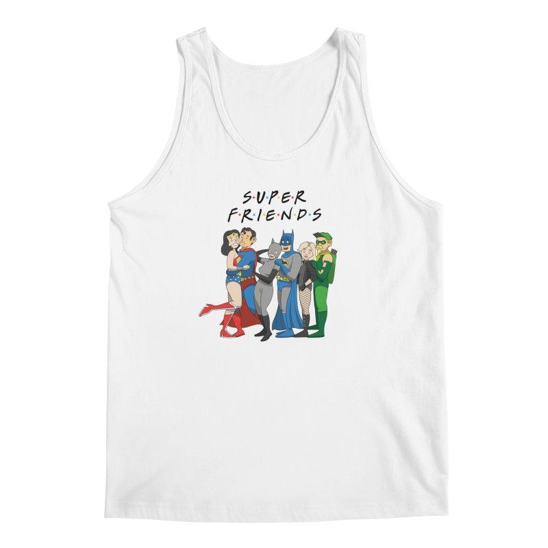 Super Friends Men's Regular Tank by Ian J. Norris