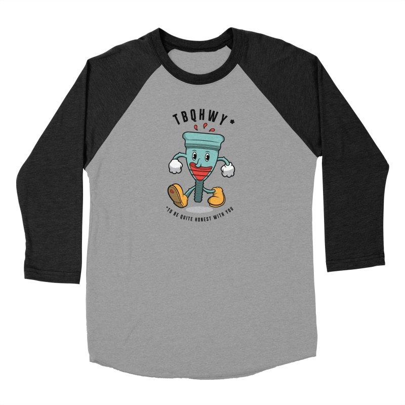 TBQHWY Men's Baseball Triblend Longsleeve T-Shirt by Ian J. Norris