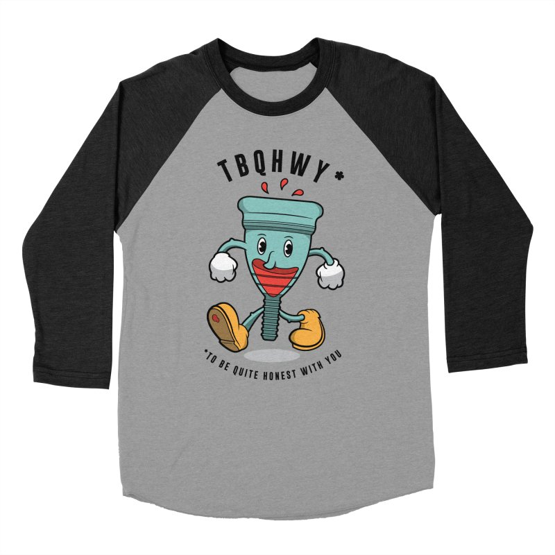 TBQHWY Women's Baseball Triblend Longsleeve T-Shirt by Ian J. Norris