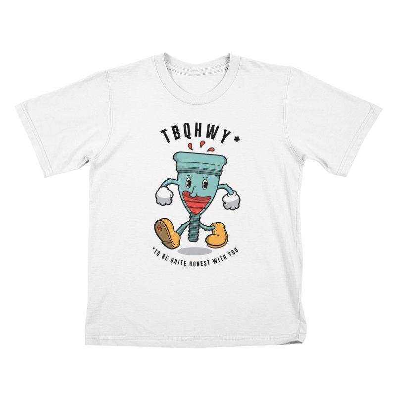 TBQHWY Kids T-Shirt by Ian J. Norris