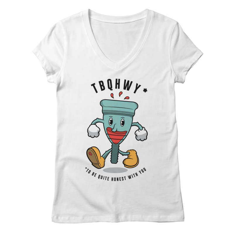 TBQHWY Women's V-Neck by Ian J. Norris