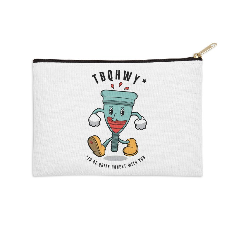 TBQHWY Accessories Zip Pouch by Ian J. Norris