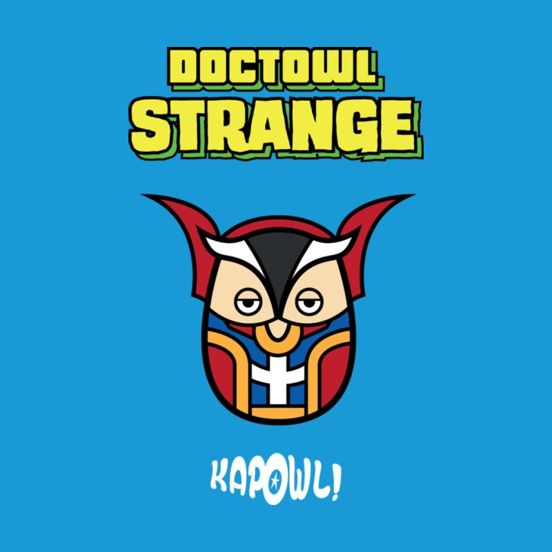 Doctowl Strange Men's T-Shirt by Ian J. Norris
