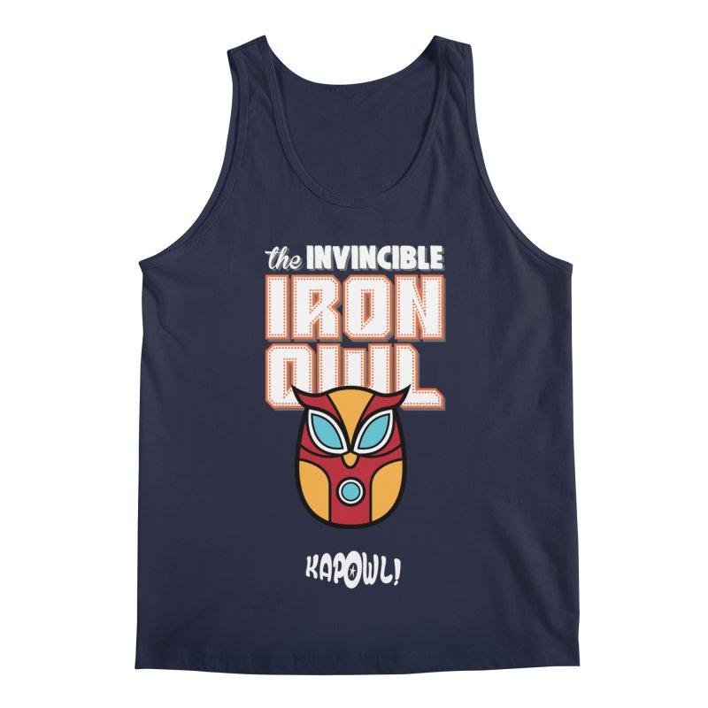 Iron Owl Men's Regular Tank by Ian J. Norris