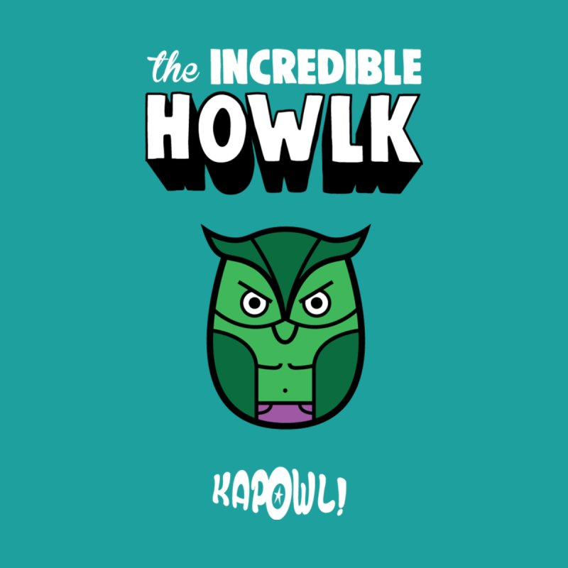 The Incredible Howlk Kids T-Shirt by Ian J. Norris