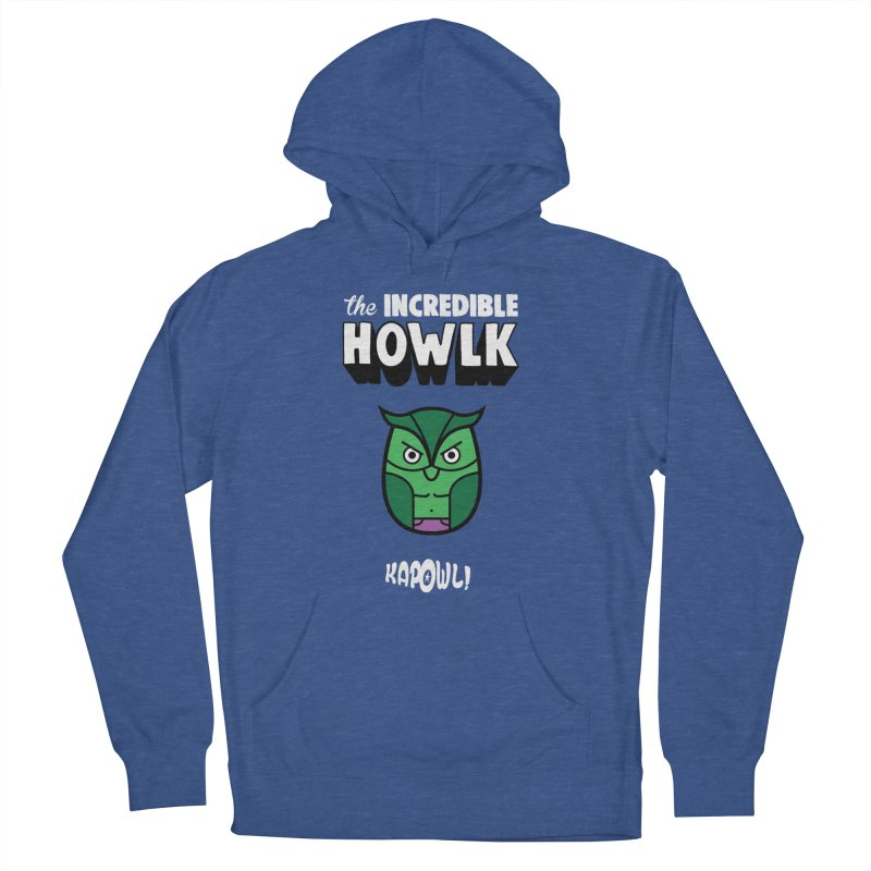The Incredible Howlk Women's Pullover Hoody by Ian J. Norris