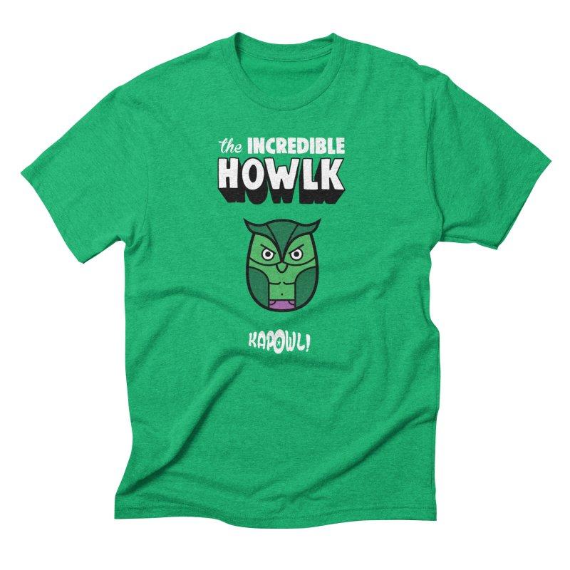 The Incredible Howlk Men's T-Shirt by Ian J. Norris