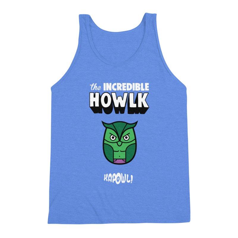 The Incredible Howlk Men's Tank by Ian J. Norris