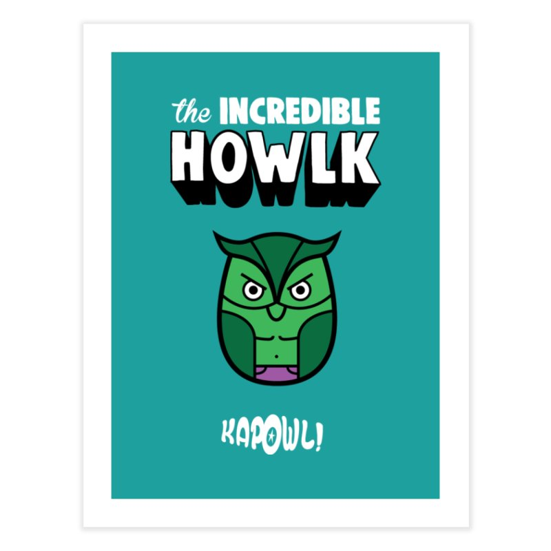 The Incredible Howlk Home Fine Art Print by Ian J. Norris