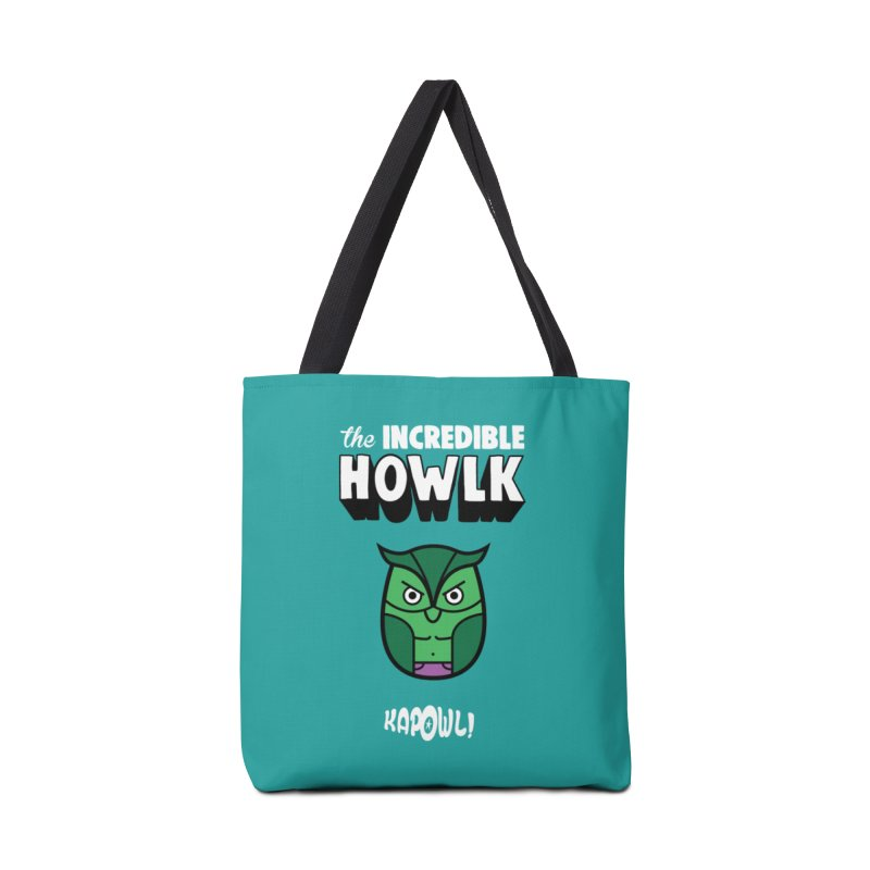 The Incredible Howlk Accessories Bag by Ian J. Norris