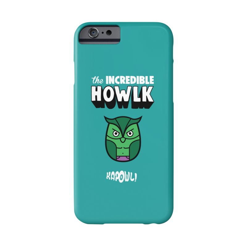 The Incredible Howlk Accessories Phone Case by Ian J. Norris