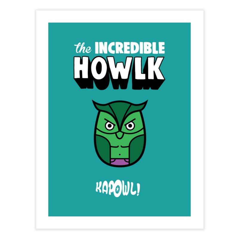 The Incredible Howlk Home Fine Art Print by Ian J. Norris