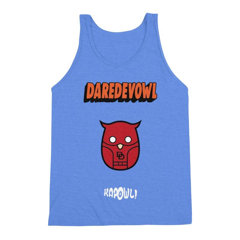 Daredevowl Men's Triblend Tank by Ian J. Norris
