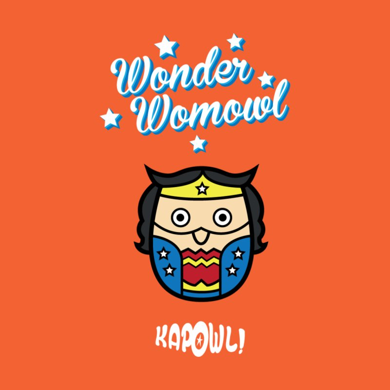 Wonder Womowl Men's T-Shirt by Ian J. Norris