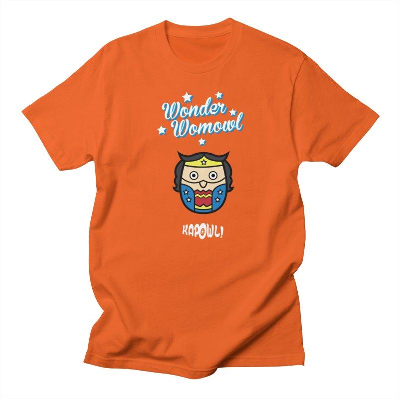Wonder Womowl Men's T-Shirt by Ian J. Norris