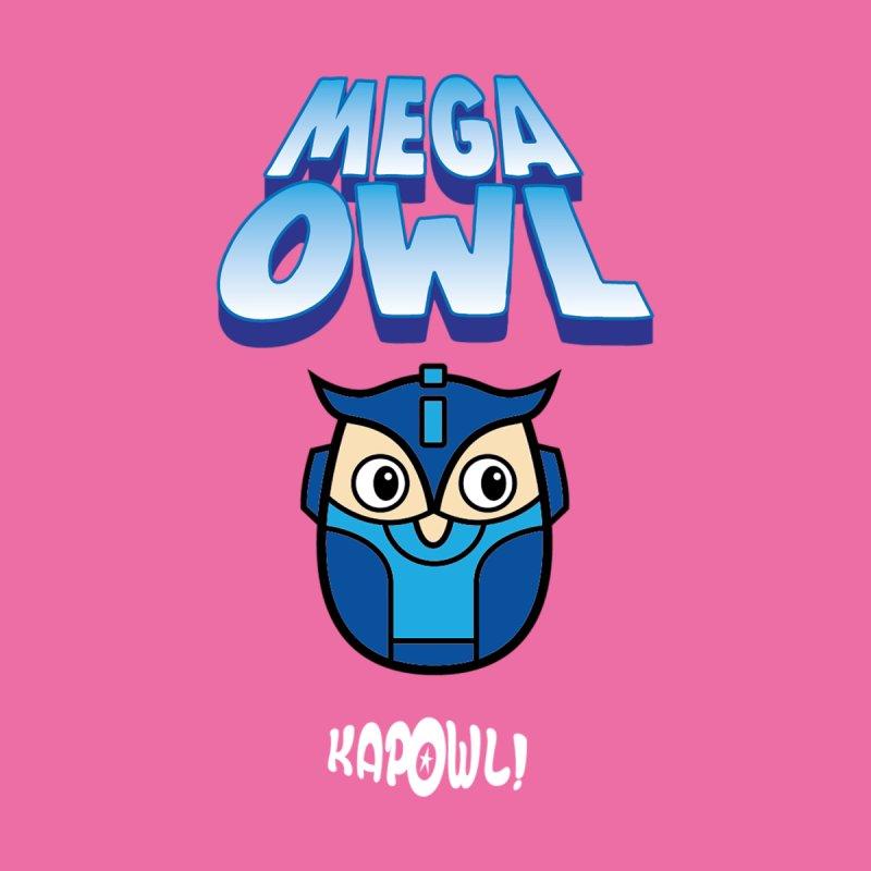 Mega Owl Accessories Mug by Ian J. Norris