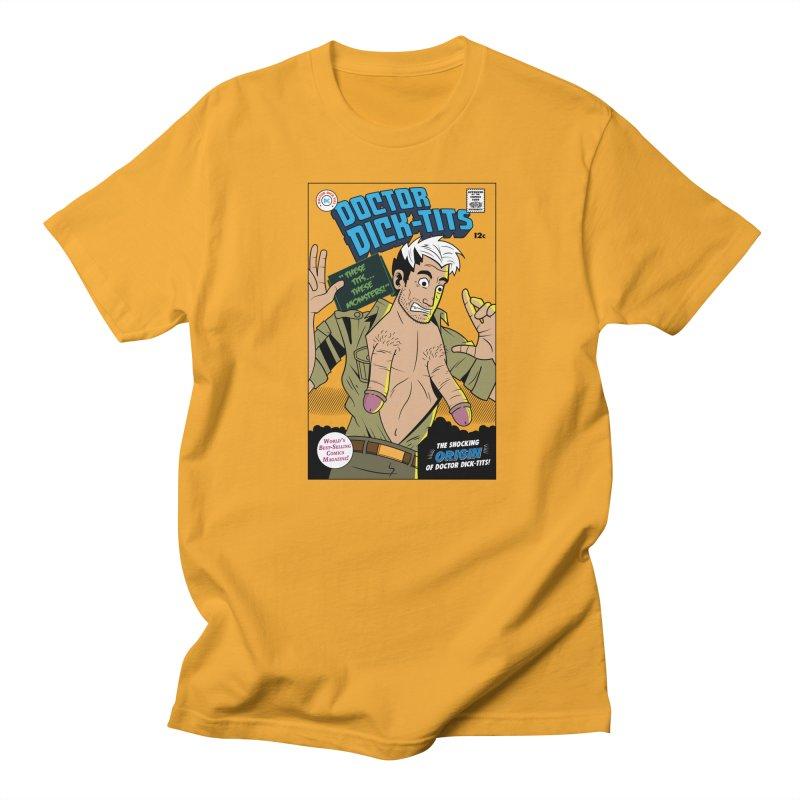 Doctor Dick-Tits Origin Men's T-Shirt by Ian J. Norris