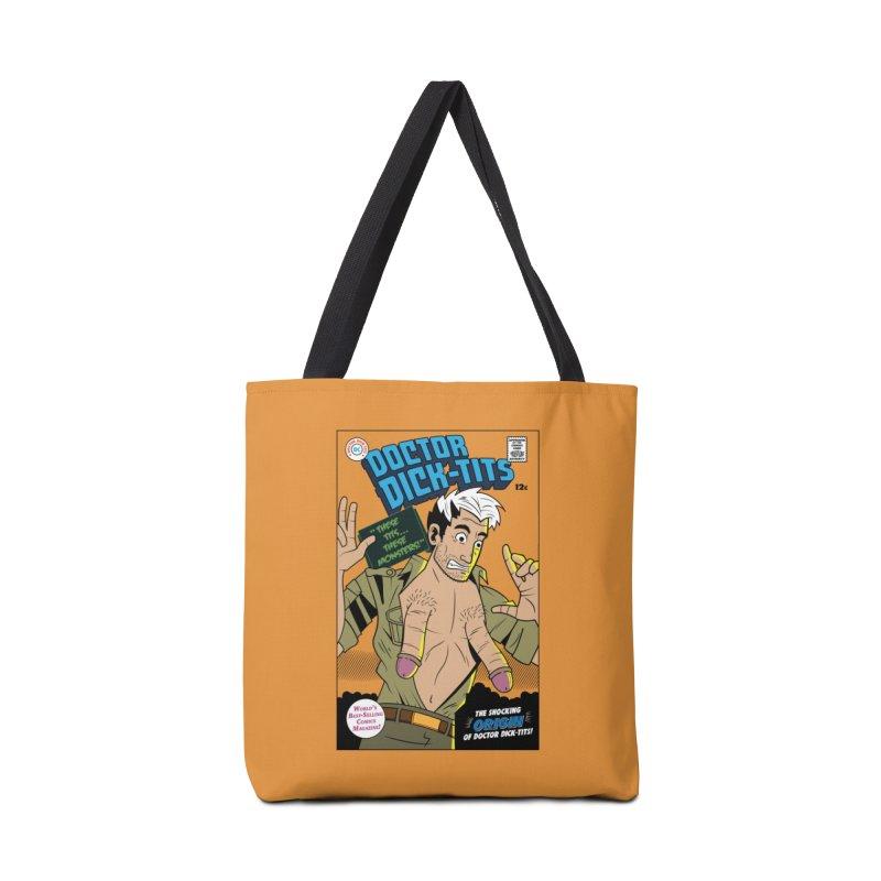 Doctor Dick-Tits Origin Accessories Tote Bag Bag by Ian J. Norris