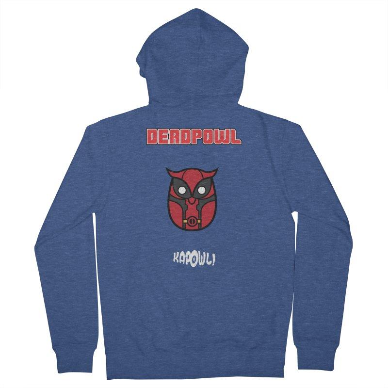 Deadpowl Men's Zip-Up Hoody by Ian J. Norris