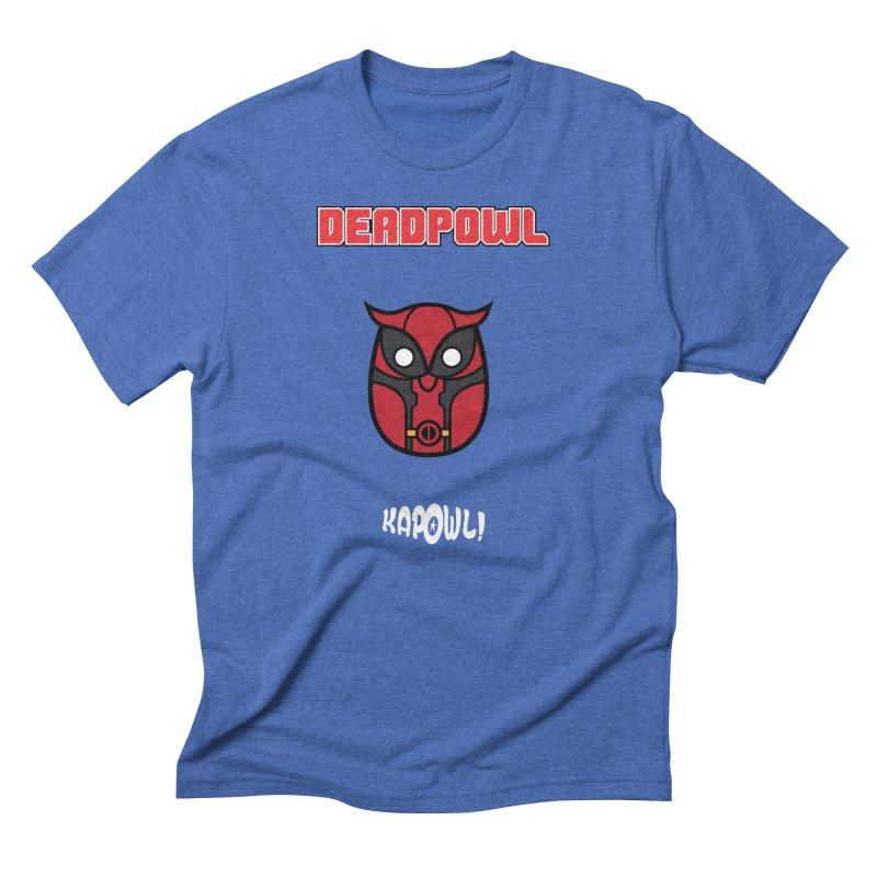 Deadpowl Men's T-Shirt by Ian J. Norris