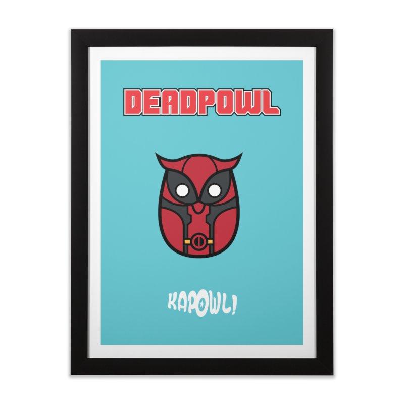 Deadpowl Home Framed Fine Art Print by Ian J. Norris