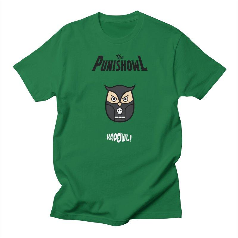 The Punishowl Men's Regular T-Shirt by Ian J. Norris