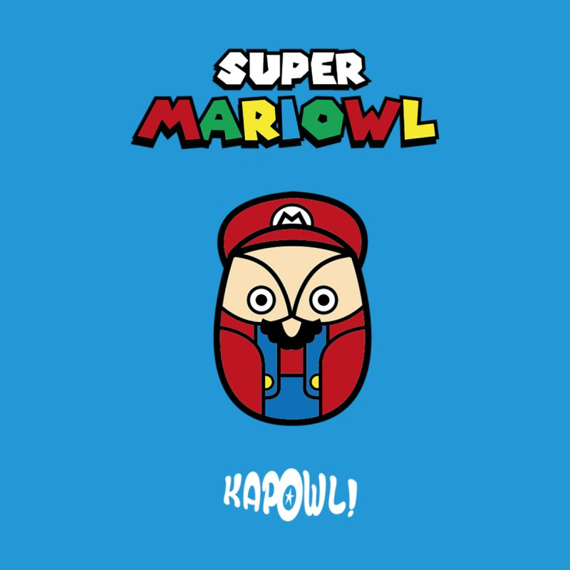 Super Mariowl Men's Tank by Ian J. Norris