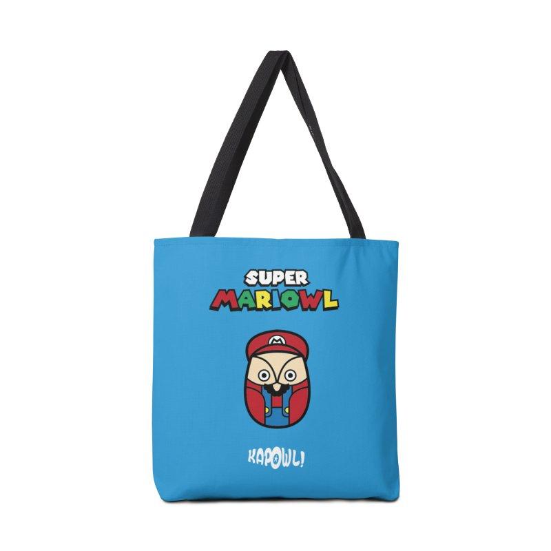 Super Mariowl Accessories Tote Bag Bag by Ian J. Norris
