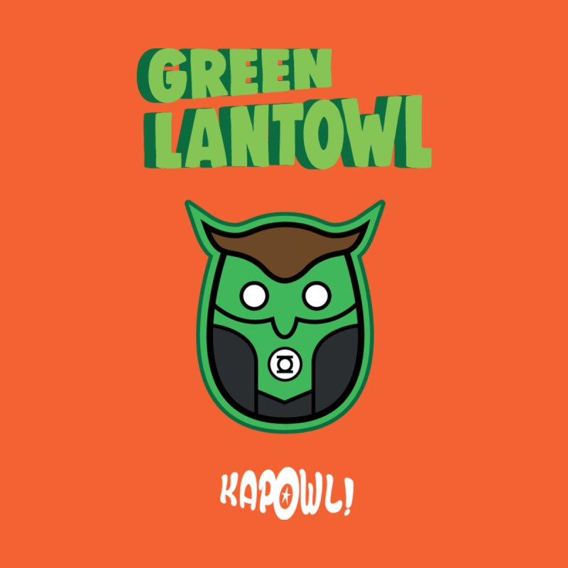 Green Lantowl Accessories Phone Case by Ian J. Norris