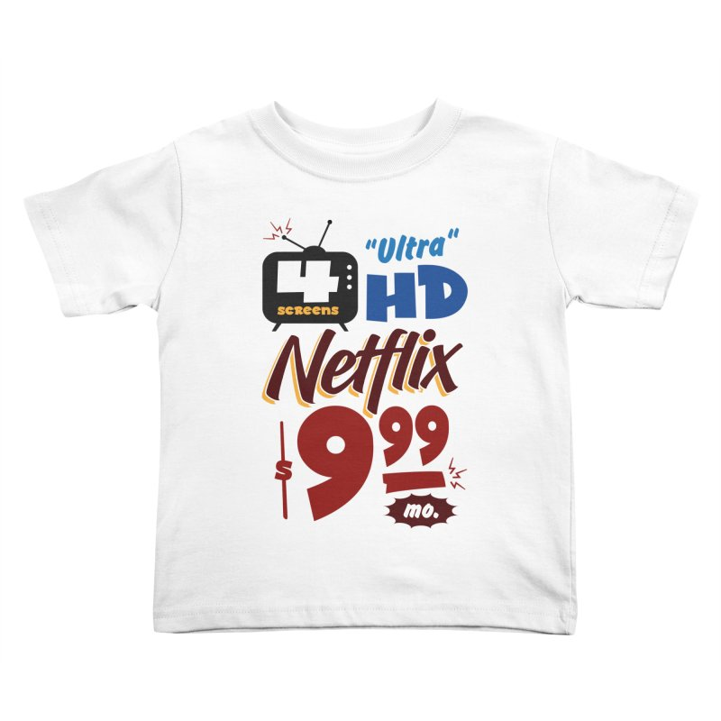 Netflix Sign Kids Toddler T-Shirt by Ian J. Norris