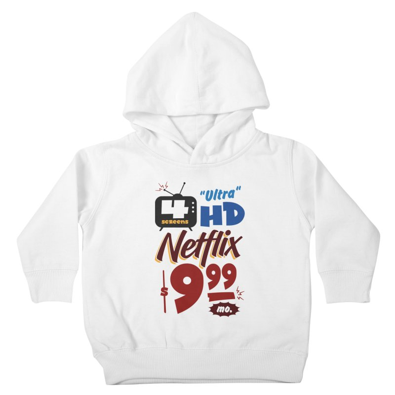 Netflix Sign Kids Toddler Pullover Hoody by Ian J. Norris