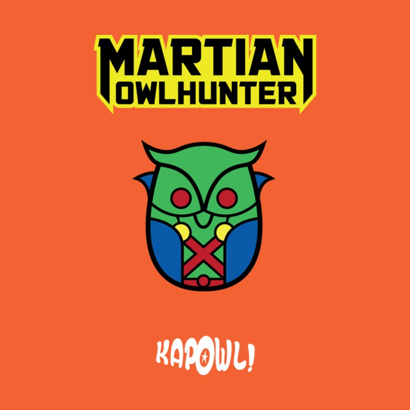 The Martian Owlhunter Men's T-Shirt by Ian J. Norris