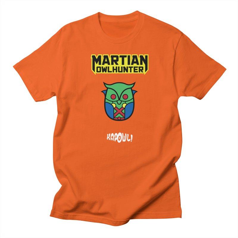 The Martian Owlhunter Men's Regular T-Shirt by Ian J. Norris