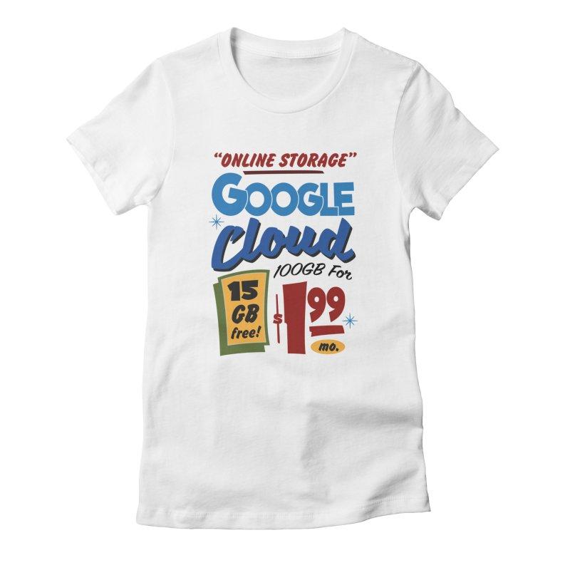 Google Cloud Sign Women's T-Shirt by Ian J. Norris