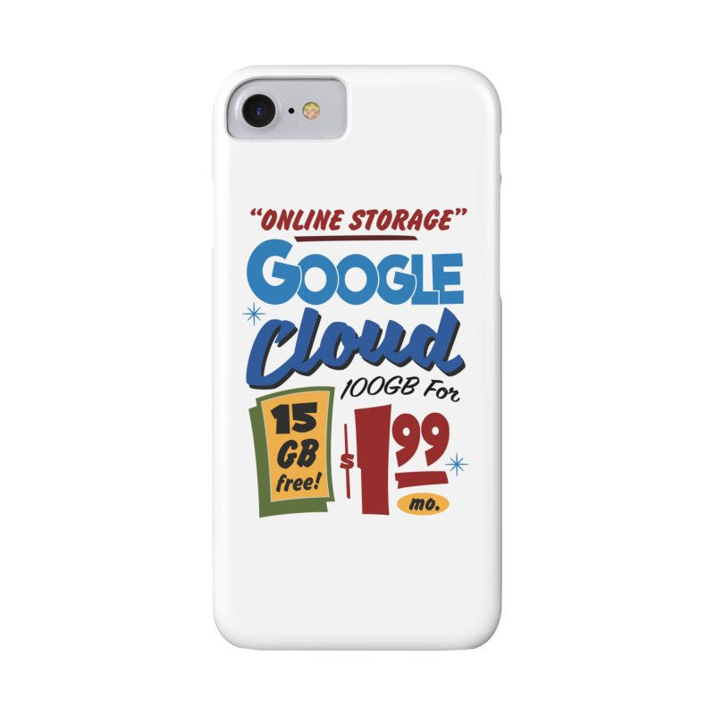Google Cloud Sign Accessories Phone Case by Ian J. Norris
