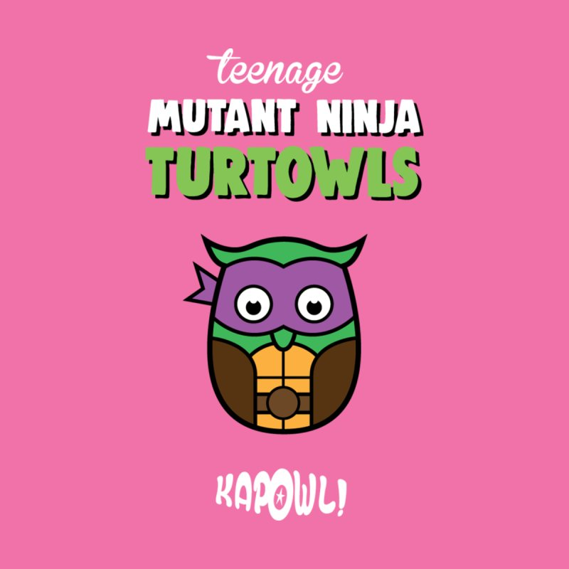 Teenage Mutant Ninja Turtowls - Donnatellowl Men's T-Shirt by Ian J. Norris