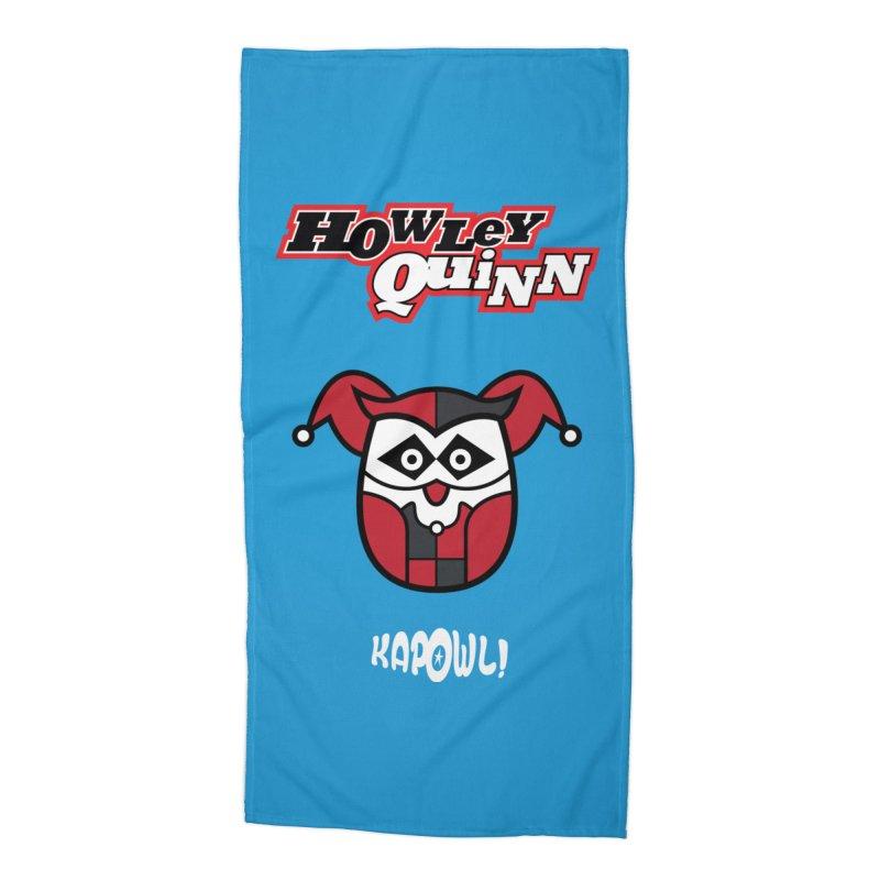 Howley Quinn Accessories Beach Towel by Ian J. Norris